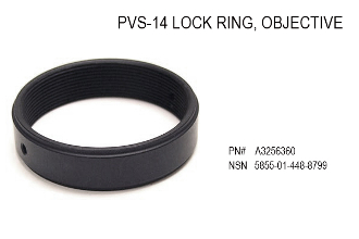 PVS-14 Objective Lens Locking Ring