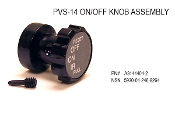 PVS-14 & PVS-7 Switch Knob Assembly